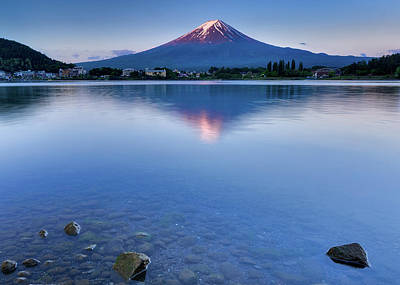 Photograph - Mt Fuji - First Light by Craig Szymanski
