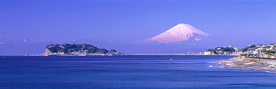 Fuji Mountain Photograph - Mt Fuji Kanagawa Japan by Panoramic Images