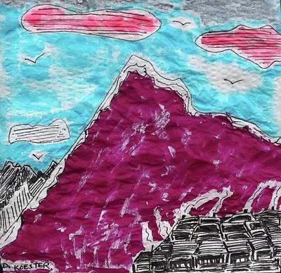 Tapestry - Textile - Mt. Fuji Village  by Don Koester