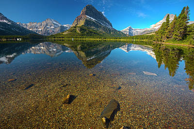 Photograph - Mt. Grinnell by Gary Lengyel