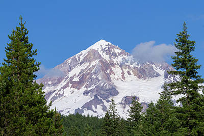 Photograph - Mt. Hood #2 by Paul Rebmann