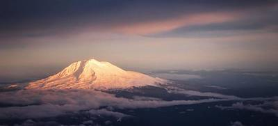 Photograph - Mt Hood At Sunset by Nadalyn Larsen