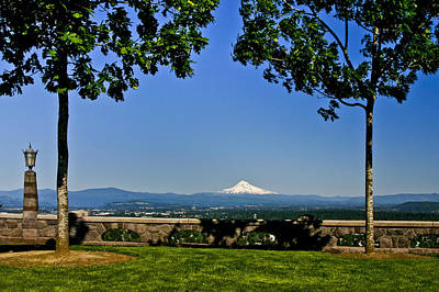 Photograph - Mt Hood From Rocky Butte by Albert Seger