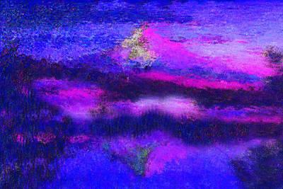 Mt Hood Digital Art - Mt Hood In Heaven by Nilla Haluska