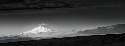 Photograph - Mt. Hood Morning by Don Schwartz