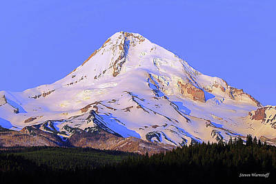 Photograph - Mt. Hood, Oregon by Steve Warnstaff