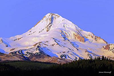 Photograph - Mt. Hood, Oregon by Steve Warnstaff