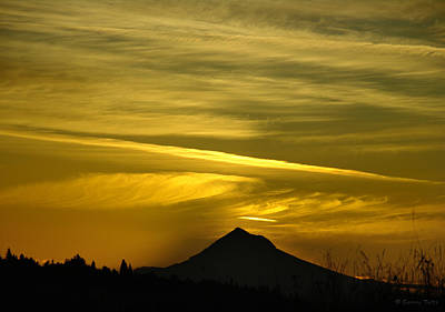 Mt. Hood Sunrise Art Print
