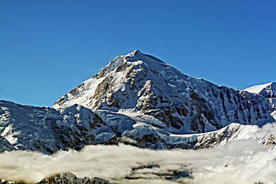 Photograph - Mt Hunter Alaska by Waterdancer