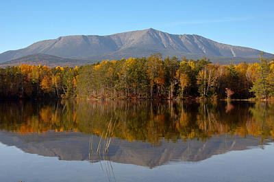 Photograph - Mt Katahdin Baxter State Park Fall 1 by Glenn Gordon