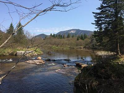 Photograph - Mt. Katahdin by Robin Regan