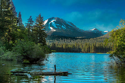 Photograph - Mt Lassen by Bill Gallagher