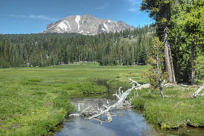 Photograph - Mt Lassen by Peter Dyke
