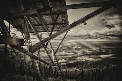 Photograph - Mt Lolo Hang Gliding Ramp by Theresa Tahara