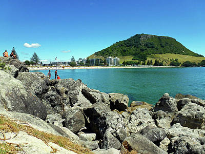 Photograph - Mt Maunganui Beach 11 - Tauranga New Zealand by Selena Boron
