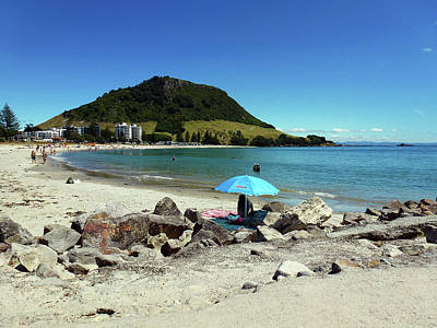 Photograph - Mt Maunganui Beach 5 - Tauranga New Zealand by Selena Boron