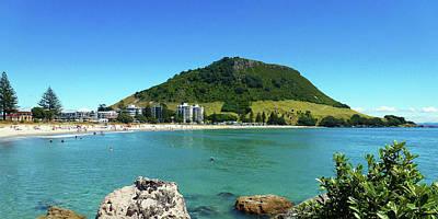 Photograph - Mt Maunganui Beach 7 - Tauranga New Zealand by Selena Boron