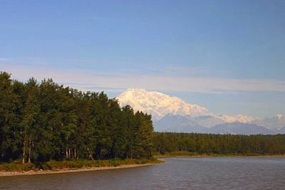 Photograph - Mt. Mckinley Alasa 0755 by Jack G  Brauer
