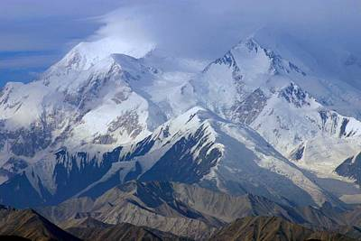 Photograph - Mt. Mckinley Alaska by Jack G  Brauer