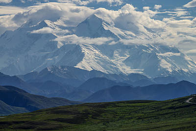 Print featuring the photograph Denali by Gary Lengyel