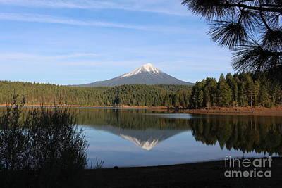 Photograph - Mt Mclaughlin Or Pitt by Marie Neder