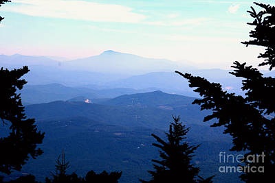 Photograph - Mt Mitchell In The Mist by Marilyn Carlyle Greiner