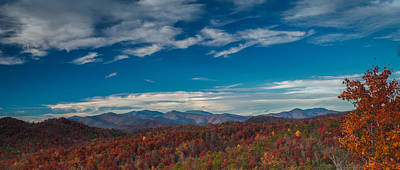 Photograph - Mt. Mitchell-pano by Joye Ardyn Durham