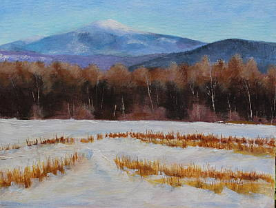 Painting - Mt. Monadnock In Winter by Lenore Gaudet
