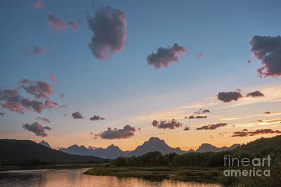 Photograph - Mt Moran At Sunset by Sharon Seaward
