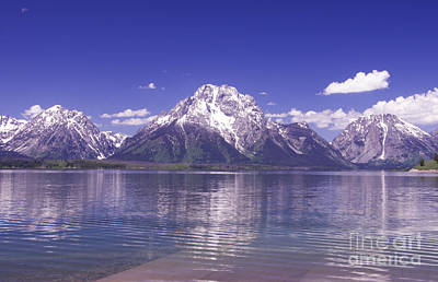 Photograph - Mt Moran - Grand Tetons by Louise Magno
