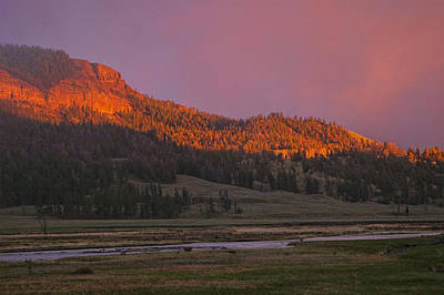 Photograph - Mt. Norris by Steve Stuller