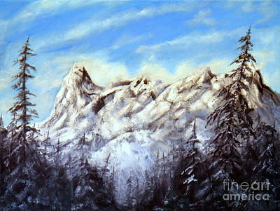 Painting - Mt Nusatsum by Ida Eriksen