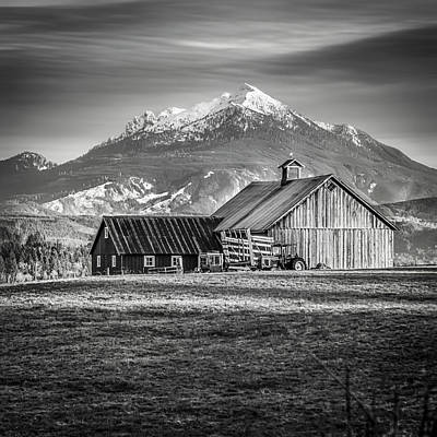 Photograph - Mt Pilchuck by Tony Locke