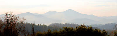 Photograph - Mt. Pisgah In The Mist by Alan Lenk