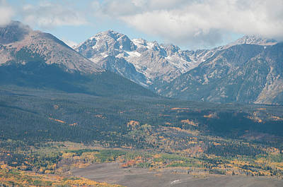 Mt. Powell - Gore Range Art Print by Aaron Spong
