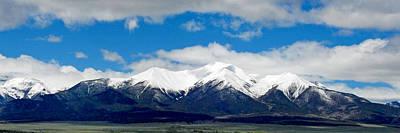 Mt. Princeton Colorado Art Print