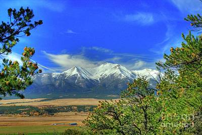 Photograph - Mt. Princeton by Tony Baca