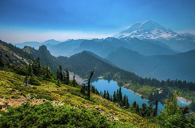 Photograph - Mt. Rainier And Eunice Lake by Chris McKenna