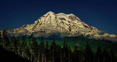 Photograph - Mt Rainier by Jason Brooks