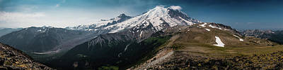 Photograph - Mt. Rainier Panoramic by Chris McKenna