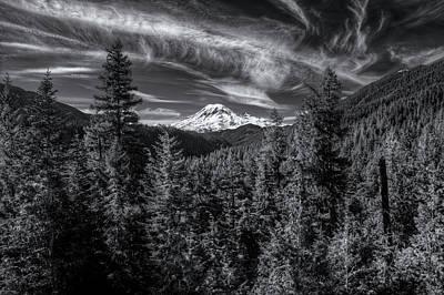Photograph - Mt. Rainier by Patrick Groleau