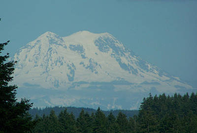 Mt Rainier Washington Art Print by Laurie Kidd