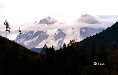 Photograph - Mt Rainier Washington by Sadie Reneau