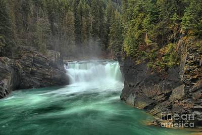 Photograph - Mt Robson Overlander Falls by Adam Jewell