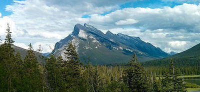 Mountain Photograph - Mt Rundle by Lone Summit