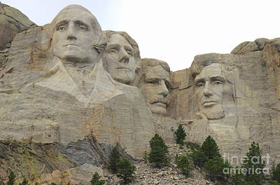 Photograph - Mt Rushmore by Lennie Malvone