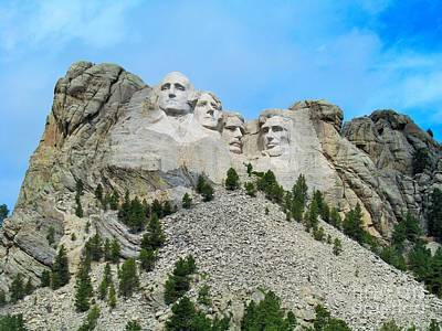 Photograph - Mt Rushmore by Marcia Breznay