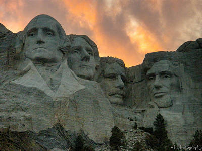 Mt. Rushmore Art Print