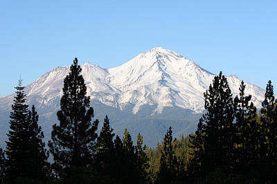 Mt. Shasta - Her Majesty Art Print by Holly Ethan
