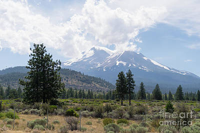 Photograph - Mt Shasta California Dsc5027 by Wingsdomain Art and Photography